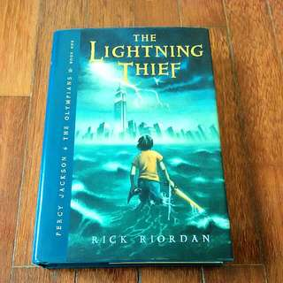 RESERVED Percy Jackson: The Lighting Thief (Rick Riordan)