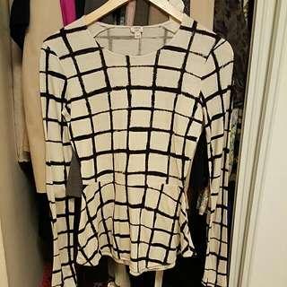 Wilfred Peplum Style Shirt