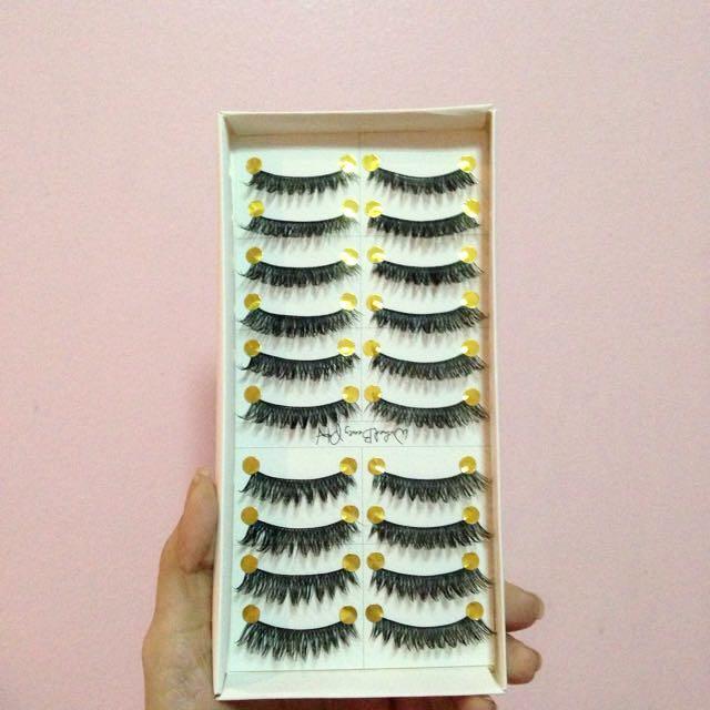 10 Pairs of Flase Eyelashes