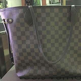 Authentic Lv Never Full Bag