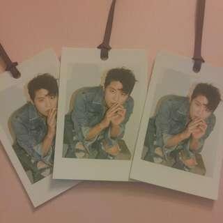 "JYJ XIA Junsu ""Just Like Yesterday"" Photocard"