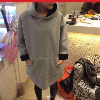 Warm Hooded Dress
