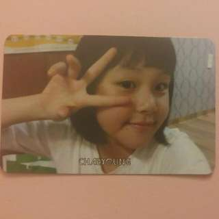 TWICE Chaeyoung (Pink)The Story Begins Official Photocard