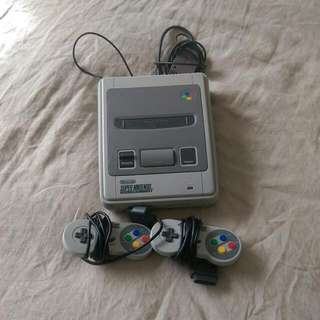 Original Super Nintendo Video Game Console (Includes 3 Games)