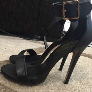 Black Heels Size 6 Aus 4 UK