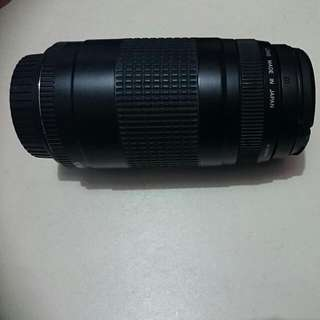 (REPRICED) Canon Ef 75-300mm