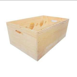 Wooden Crate For Wine Vintage Collectibles Carousell Singapore