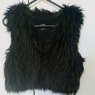Sportsgirl fur vest