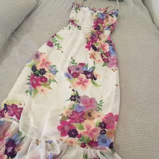 Miss Shop Floral Maxi Dress