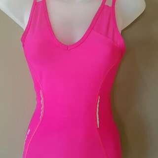 Skins Hot Pink Singlet Size S Nwot