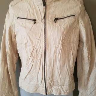 GENUINE leather Jacket Size 8