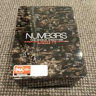 Numbers Box Set Season 1 To 6