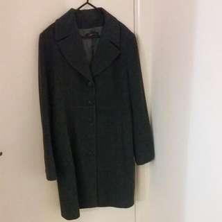 Grey Coat Size 14-16