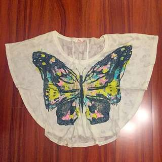 Slouchy Butterfly Top