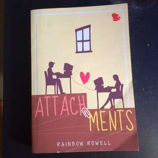 Attachments Novel By Rainbow Rowell