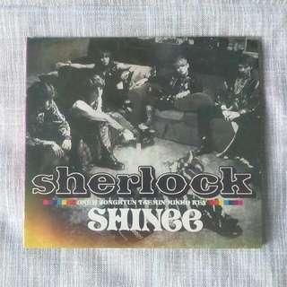 Official Album - SHINee - Sherlock - Japanese Ver.