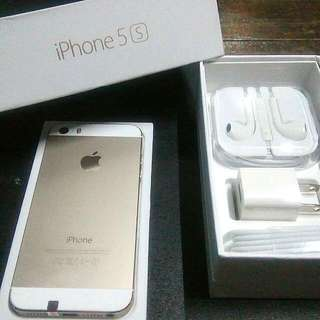 I-phone5s 16gb Gold