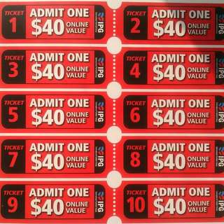 CHEAP IPG PAINTBALL tickets