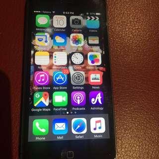 Black iPhone 5-64gb