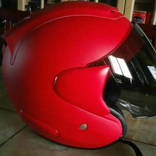 Arc helmet (matt red)
