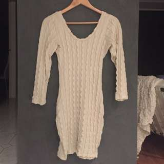Knit Dress | Size Small
