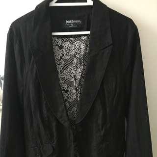 Women's Black Blazer Size 10