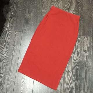 Fitted Bardot Skirt - MAKE AN OFFER