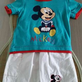 Disney Kids T-shirt & Pants Set