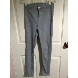 Top shop Grey Skinny Jeans