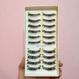 10 Pairs of Flase Eyelashes