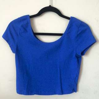 NOW $2 Forever21 Crop Top