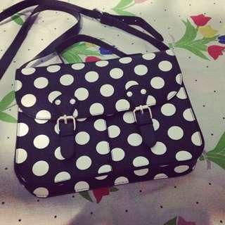 Limited Ed Polka Satchel Bag (Terranova)