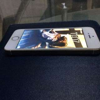 Iphone 5s gold ( Lcd cannot slide to unlock)
