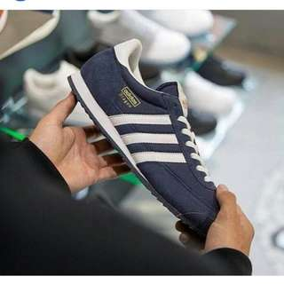 Adidas Dragon Navy-White