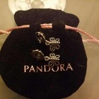 Pandora Best Friends Butterfly Charm