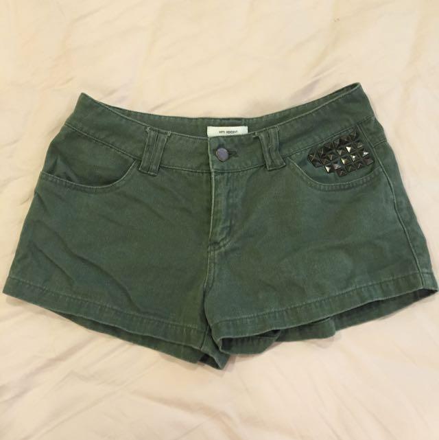 50%墨綠色短褲