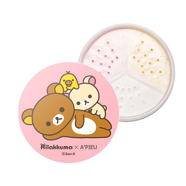 ✨7/25新上市✨APIEU x 拉拉熊三色蜜粉