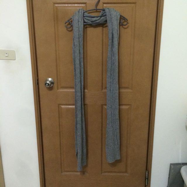 柔軟針織圍巾