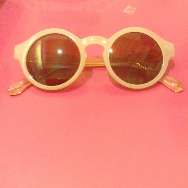 特價 粉膚色 太陽眼鏡 墨鏡 抗UVA UVB ViVI Lookbook