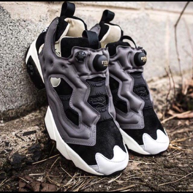 正品限量 REEBOK INSTA PUMP FURY ROAD 跑步鞋 V68798/V68799 充氣 白灰紅鴛鴦