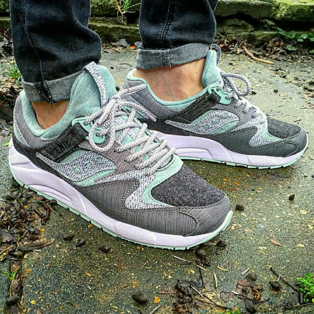 6381ac2d6589 END x Saucony Grid 9000