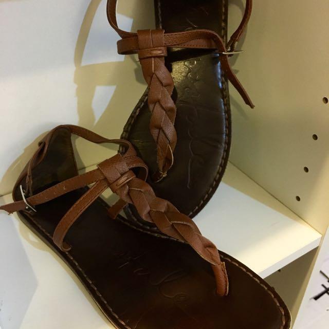 American Eagle Braid Sandals