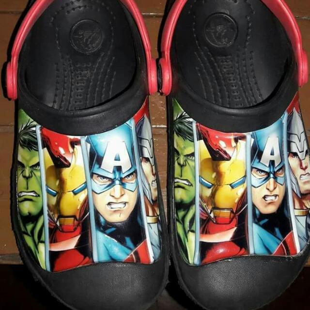 Avengers Crocs For Kids