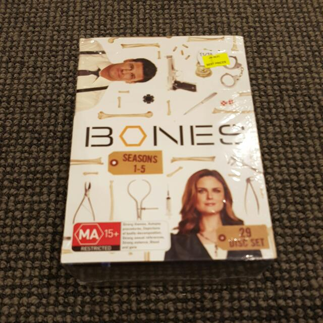 BONES boxset Season 1 To 5