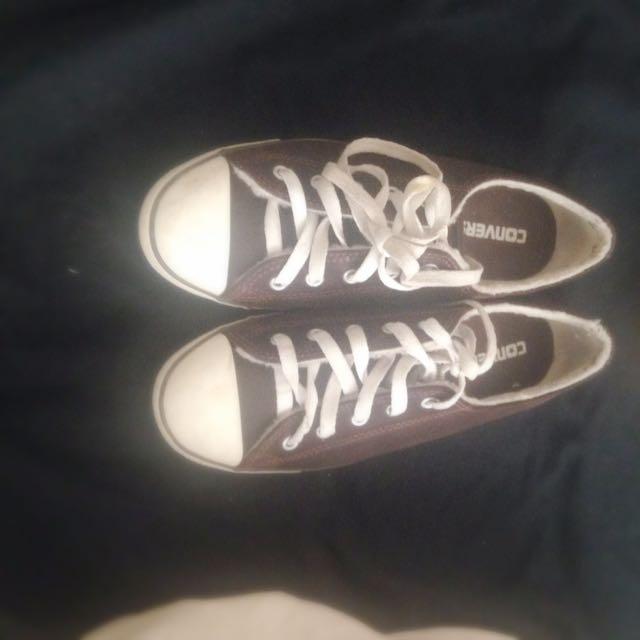 Brown Converse!
