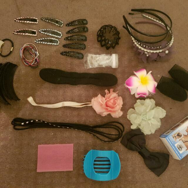 Bulk Hair Accessories / Arts And Crafts