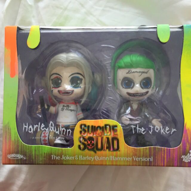 Hot Toys Cosbaby Joker And Harley Quinn