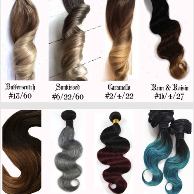 Custom Russian Double Drawn Hair Extensions