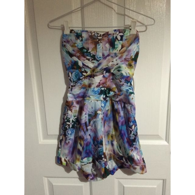 Floral Buster Playsuit