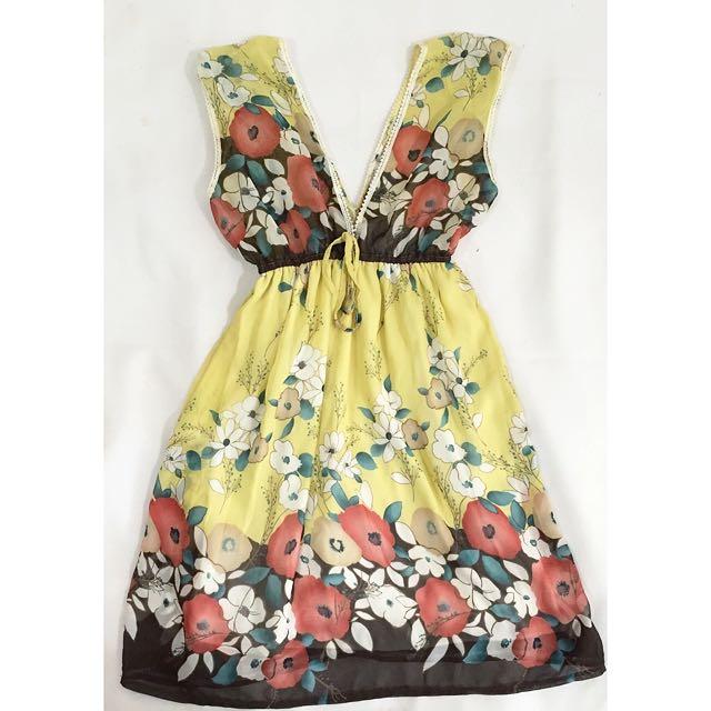 3for100k / Floral Dress